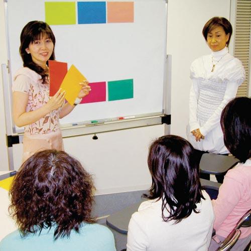 癒したい(癒されたい)人のカラーセラピー講座のイメージ